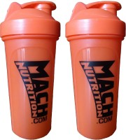 Mach Nutrition PP5PP5 650 Ml Bottle, Shaker (Pack Of 2, Orange)