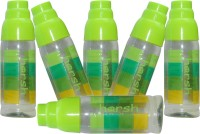 Harshpet Fridge Bottle- Rainbow Glass -Green 1000 Ml Bottle (Pack Of 6, Green)