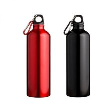 Phoenix Sports 750 Ml Bottle (Pack Of 2, Red, Black)