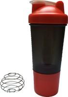 UDAK One Storage Loop 500 Ml Bottle, Shaker, Water Bag (Pack Of 1, Red)