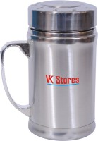 Vk Stores Gentry Cup 150 Ml Flask (Pack Of 1, Silver)
