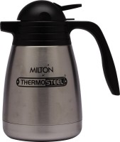 Milton Thermosteel Carafe 1000 Ml Flask Pack Of 1, Steel, Black
