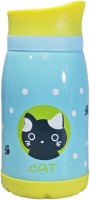 Babysid Collections Insulated Kids Bottle-Blue Cat 260 Ml Flask (Pack Of 1, Multicolor)