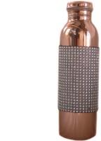 Rastogi Handicrafts Joint-Less-Blt 1000 Ml Bottle (Pack Of 1, Copper)