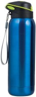 Behome Metal Water Bottles 500 Ml Flask (Pack Of 1, Blue)