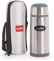 Cello Commando 1000 Ml Flask (Pack Of 1, Silver, Grey)
