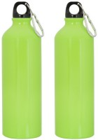 GADGE NEON SPORTS BOTTLE GREEN 750 Ml Sipper (Pack Of 2, Green)