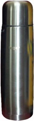 Gm Enterprises High Quality Steel Double Walled Vaccum Bottle With Sling Bag 500 Ml Flask (Pack Of 1, Silver)