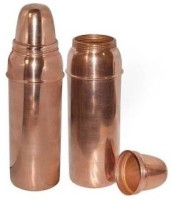 DVM Q1 850 Ml Bottle, Shaker, Water Bag, Sipper, Flask, Bottle Cage (Pack Of 2, Brown)