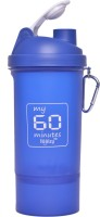 My 60 Minutes Gym 600 Ml Bottle (Pack Of 1, Blue)