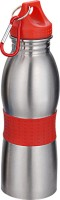 ShadowFax Curved 600ml Water Bottle Sipper Flask Red 600 Sipper (Pack Of 1, Red)