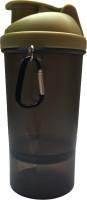 UDAK One Storage 500 Ml Bottle, Shaker, Sipper (Pack Of 1, Gold, Black)
