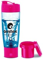 Omtex Protein Mixer With Sipper 600 Ml Bottle (Pink)