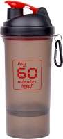 My 60 Minutes 500ML Red 500 Ml Bottle (Pack Of 1, Red)