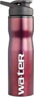 Wa.ter Metallic 750 Ml Bottle (Pack Of 1, Burgundy)