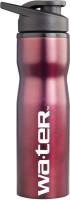 Wa.ter Metallic 750 Ml Bottle (Pack Of 1, Burgundy)