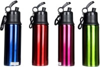 Pexpo PXPSRGBP 750 Ml Sipper (Pack Of 4, Lacquered Red, Lacquered Blue, Lacquered Green, Lacquered Purple)