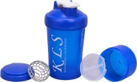 KLS Protein Shaker 600 Ml Sipper (Pack Of 1, Blue)