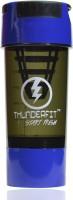 THUNDERFIT Shaker 500 Ml Sipper, Bottle, Shaker, Water Bag, Flask, Bottle Cage (Pack Of 1, Blue And Black)