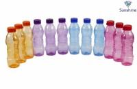 Sunshine G-One 1000 Ml Bottle (Pack Of 12, Violet, Pink, Blue, Orange)