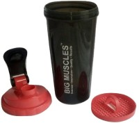 Big Muscle Protein Shaker 700 Ml Shaker, Bottle (Pack Of 1, Black, Red)