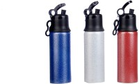 Pexpo PXPSAWRB 750 Ml Sipper (Pack Of 3, Antique White, Antique Red And Antique Blue)