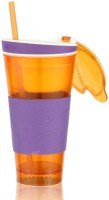 Dizionario Snackeez Multi Purpose Drink & Snack Travel Cup 550 Ml Sipper (Pack Of 1, Multicolor)