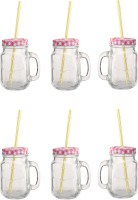 Favola Clear 500 Ml Sipper (Pack Of 6, Clear)