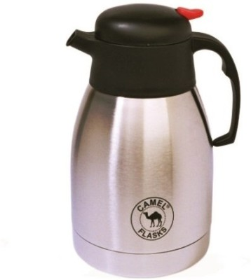 Camel Coffee Pot 2000 Ml Flask (Pack Of 1, Silver)