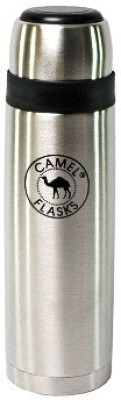 Camel Slim 500 Ml Flask (Pack Of 1, Silver)