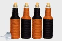 Prop It Up Mocktail Server Set Of 4 750 Ml Bottle (Pack Of 4, Multicolour)