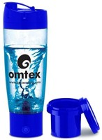 Omtex Protein Mixer With Sipper 600 Ml Bottle (Blue)