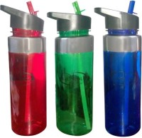 AQUAPOLO Bottle-17 750 Ml Sipper (Pack Of 3, Multicolor)