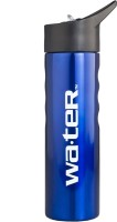 Wa.ter Metallic 750 Ml Sipper (Pack Of 1, Blue)