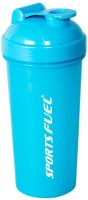 Technix Protein Shaker Regular 700 Ml Sipper (Pack Of 1, Black)