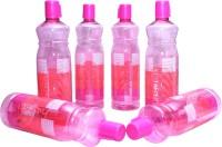 Harshpet Fridge Bottle- Rainbow Pink 1000 Ml Bottle (Pack Of 6, Pink)