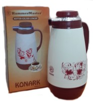 HammerMaster Konark 1000 Ml Flask (Pack Of 1, Ivory)