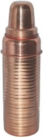 Prisha India Craft Copper Thermos With Lining For Ayurvedic Health Benefits 750 Ml Bottle (Pack Of 1, Gold)