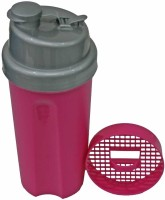 AdraxX Gym Sipper And Shaker 600 Ml Sipper Bottle - Pack Of 2, Silver - BOTEY26GQ25PHUBV