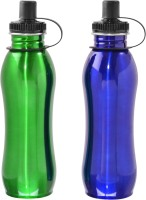 Avenue SportsBottles 750 Ml Bottle (Pack Of 2, Green, Blue)