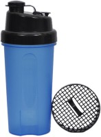 UDAK Dual Sip 600 Ml Bottle, Shaker, Sipper, Flask (Pack Of 1, Black, Blue)