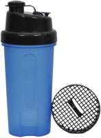 UDAK Dual Sip 600 Ml Bottle, Shaker, Sipper, Flask (Pack Of 1, Black, Blue)