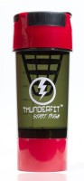 THUNDERFIT FITNESS TORNADO PROTIEN CUP 500 Ml Shaker (Pack Of 1, Multicolor)