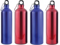 Shree Shop Alflask 750 Ml Flask (Pack Of 4, Red, Blue)