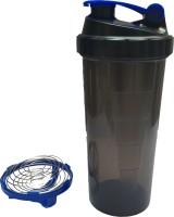 UDAK Speed 700 Ml Bottle, Shaker, Sipper (Pack Of 1, Blue, Black)