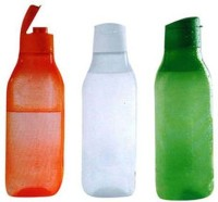 Tupperware Freedom 1000 Ml Bottle (Pack Of 3, Green, White, Orange)