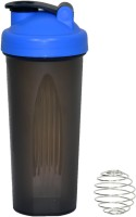 UDAK Simple 600 Ml Bottle, Shaker, Sipper, Flask (Pack Of 1, Blue, Black)