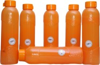 Harshpet Fridge Bottle- Alpha Orange 1000 Ml Bottle (Pack Of 6, Orange)