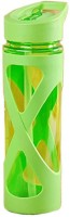 Satyam Kraft Spiral Leaf Green 580 Ml Sipper (Pack Of 1, Green)