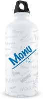 Hot Muggs Me Graffiti Bottle - Monu 750 Ml Bottle (Pack Of 1, White)
